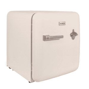 SnoMaster Compressor Cooled 50L Cream Retro Beverage Cooler (BC-1C)