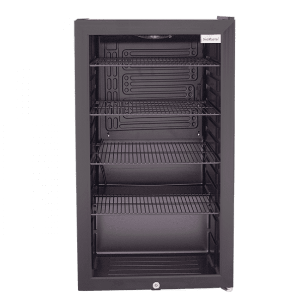 SnoMaster 98L Under Counter Wine and Beverage Cooler (SM-100) with Lock Front View