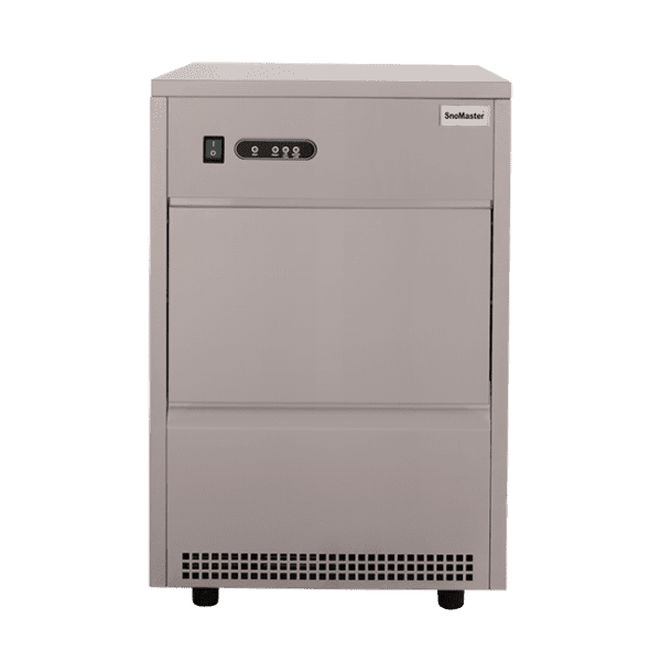SnoMaster 26kg Plumbed-In Commercial Ice Maker (SM-26) 16 Bullet Ice / Cycle Front