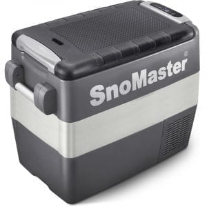 SnoMaster Compressor Cooled 50L Portable Fridge/Freezer AC/DC with Digital Temperature Control (SMDZ-LS50) Right Side