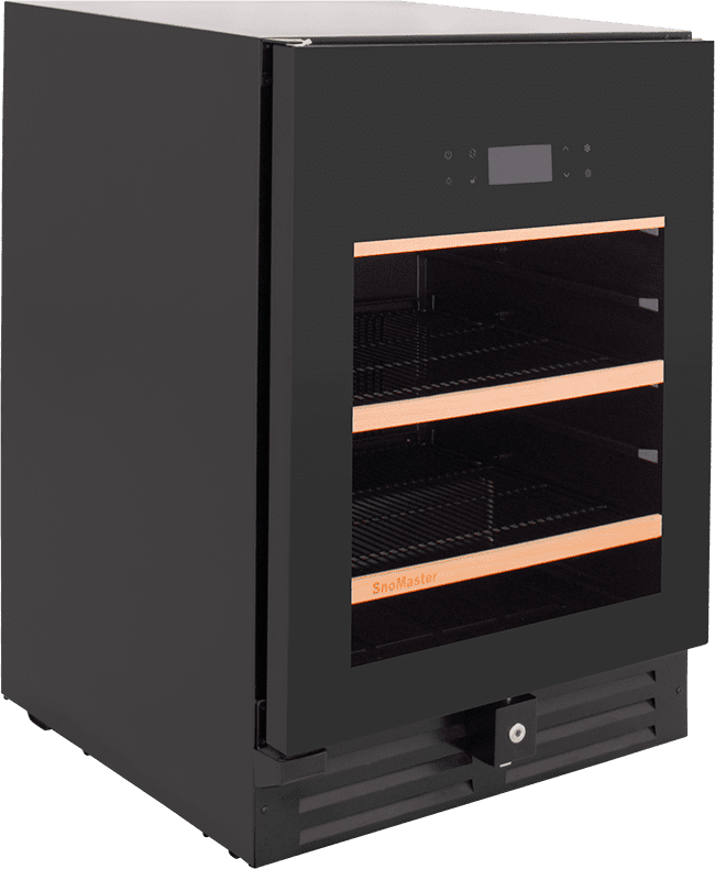 SnoMaster Ultra Quiet 145L Under Counter Beverage Cooler Pro Series (VT-41PRO) Right View Close Up