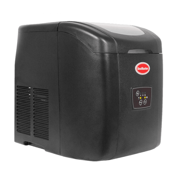 SnoMaster 12KG Portable Ice Maker (ZB-14) 10 Bullet Ice Cubes / Cycle Black Left View