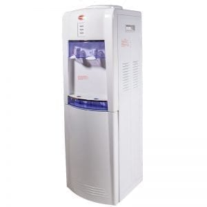 SnoMaster Compressor Cooled Freestanding Hot and Cold Water Dispenser (YLR25-16LBF) for Home and Office Use Left Side