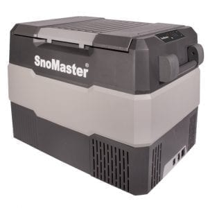 SnoMaster 60L Compressor Cooled Portable Fridge/Freezer with Digital Temperature Control (SMDZ-LS60) Left View