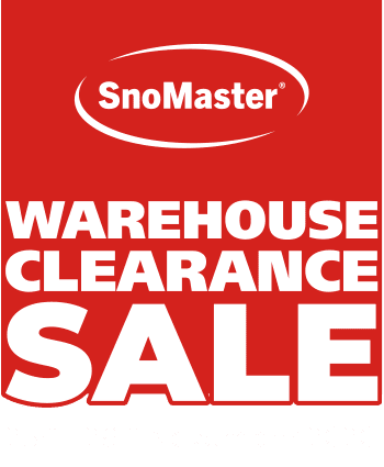 SnoMaster clearance sale