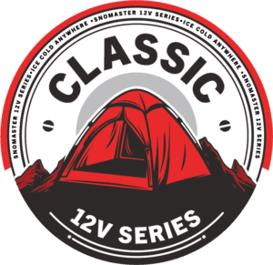 SnoMaster Portable Fridge Freezer Classic Series for camping and other outdoor adventures logo