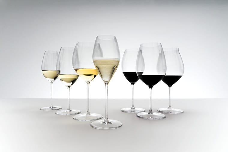 The Riedel Performance glassware range offers a stunning selection of wine glasses in a timeless, yet modern look