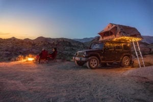 Bring a cozy home atmosphere to your off-grid travel experience with solar power.