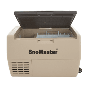 SnoMaster 40L Compressor Cooled Portable AC/DC Camping Fridge / Freezer with Open Lid and Visible Basket (SMDZ-LS40D)